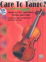 Care to Tango   Bk 1  Book   CD PDF