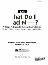 What Do I Read Next 1995 Book PDF