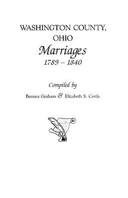 Washington County  Ohio Marriages  1789 1840