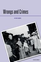 Wrongs and Crimes PDF