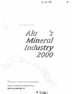 Alaska's Mineral Industry