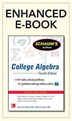 Schaum s Outline of College Algebra  4th Edition
