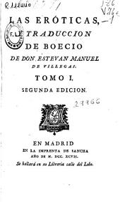Las Eróticas y traduccion de Boecio