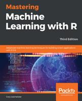 Mastering Machine Learning with R PDF