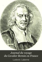 Journal du voyage du Cavalier Bernin en France