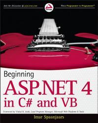 Beginning ASP NET 4 PDF
