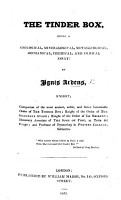 The Tinder Box  Being a Geological  Mineralogical  Metallurgical     Essay  By Ignis Ardens  Knight PDF