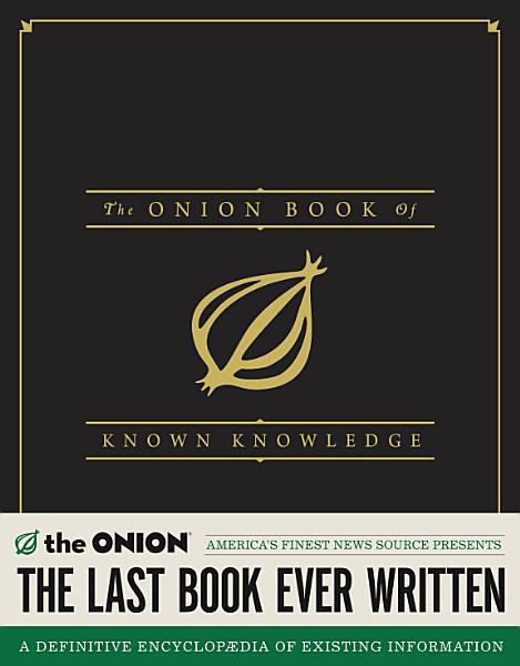 Download The Onion Book of Known Knowledge Book
