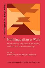 Multilingualism at Work PDF