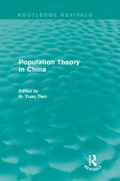 Population Theory in China