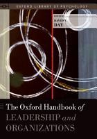 The Oxford Handbook of Leadership and Organizations PDF