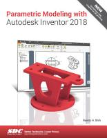 Parametric Modeling with Autodesk Inventor 2018 PDF