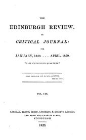 The Edinburgh Review: Volume 75; Volume 109