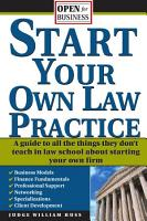 Start Your Own Law Practice PDF
