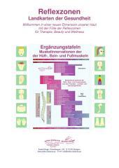 8 - Muskelinnervationen der Hüft-, Bein- und Fußmuskeln: Reflexzonen - Ergänzungstafeln für die Naturheilkunde und Physiotherapie