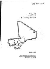 Mali  a country profile PDF