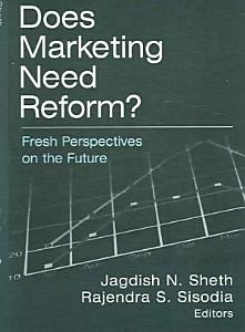 Does Marketing Need Reform  Book