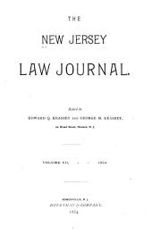 The New Jersey Law Journal: Volume 7