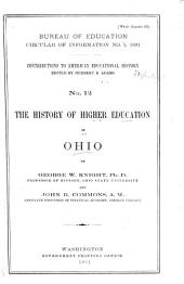 The History of Higher Education in Ohio: Volume 370
