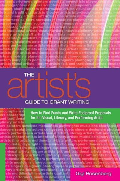The Artist s Guide to Grant Writing PDF