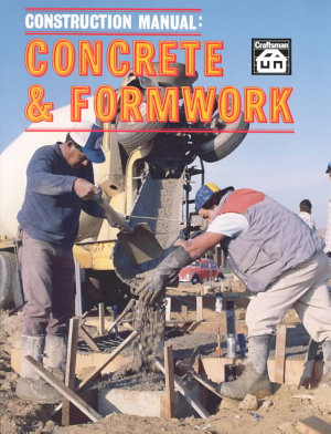 Construction Manual  Concrete   Formwork PDF
