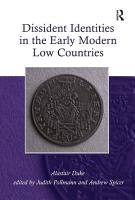 Dissident Identities in the Early Modern Low Countries PDF