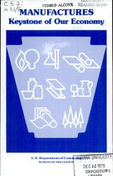 Manufactures Keystone Of Our Economy Book PDF