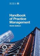 Handbook of Practice Management PDF