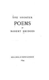 The Shorter Poems of Robert Bridges: Book V.