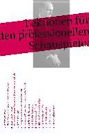 Lektionen f  r den professionellen Schauspieler PDF