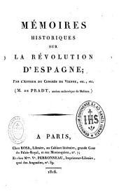 Mémoires historiques sur la révolution d'Espagne