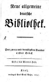 Neue allgemeine deutsche Bibliothek: Band 32