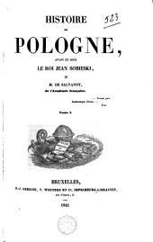 Histoire de Pologne, avant et sous le roi Jean Sobieski
