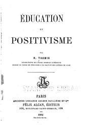 Éducation et positivisme