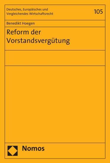 Reform der Vorstandsverg  tung PDF