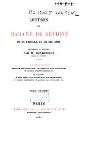Lettres de Madame de Sévigné, de sa famille et de ses amis: Volume13