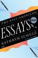 The Best American Essays 2021 PDF