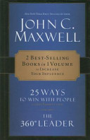 CU  Maxwell 2 in 1 25 Ways to Win with People and 360 Degree Leader PDF