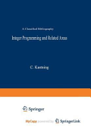 Integer Programming and Related Areas PDF
