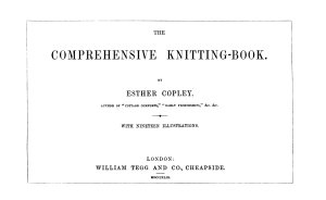 The Comprehensive Knitting Book Book PDF