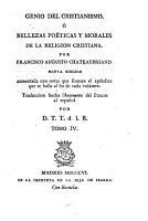 Genio del cristianismo      Bellezas po  ticas y morales de la religion cristiana PDF