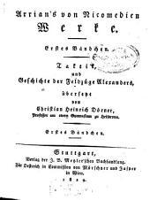 Werke: Taktik, und Geschichte der Feldzüge Alexanders, Band 1