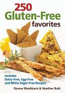 250 Gluten Free Favorites Book