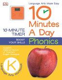 10 Minutes a Day  Phonics  Grade K