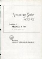 Accounting Series Releases PDF
