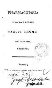 Pharmacopoeia Nosocomii regalis sancti Thomae, Londinensis