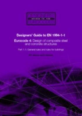 Designers  Guide to EN 1994 1 1 PDF