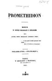 Promethidion: rzecz w dwoch dialogach z epilogiem