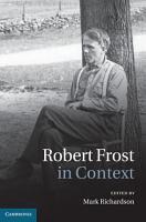 Robert Frost in Context PDF