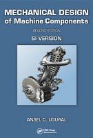 Mechanical Design of Machine Components PDF